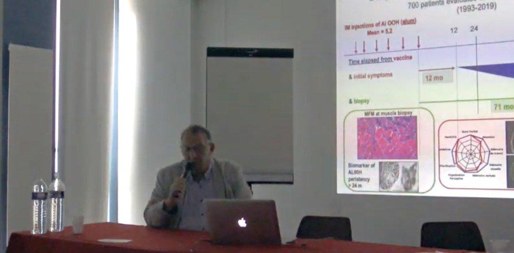 Professeur Romain Gherardi et l'aluminium vaccinal, quand la science avance à pas de géants